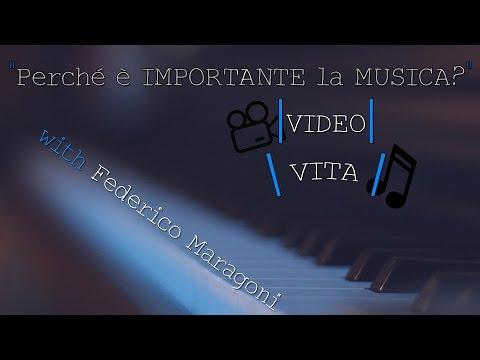 IMPORTANZA della MUSICA nei VIDEO e nella VITA - w/Federico Maragoni