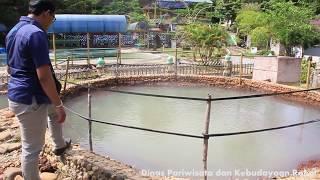 Menikmati Keindahan Panorama Objek Wisata Air Panas Hapanasan Pawan di Rokan Hulu Riau.