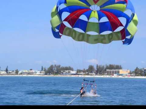 Parasailing Bradenton Beach Florida Chute Ii Thrill