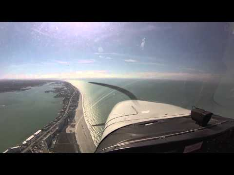 First flying lesson Cessna 172 @ Tampa Bay Aviation