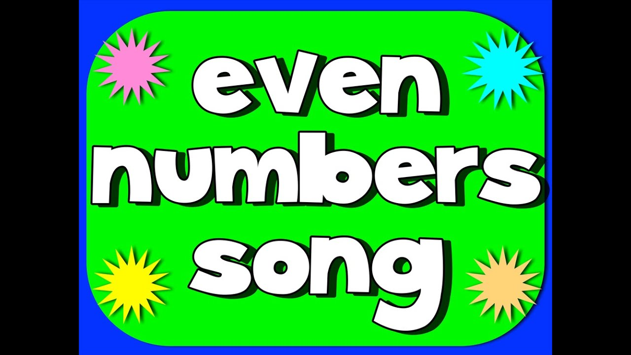 small resolution of Even and Odd Numbers (songs
