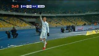 Динамо - Олимпик - 1:0. Гол: Цыганков (24')