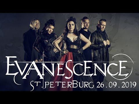 Evanescence Live 4k 60fps - Saint-Petersburg A2 Green Concert 26.09.2019 (Full Concert)