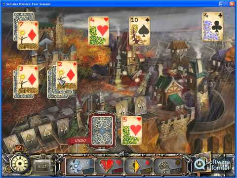 Solitaire Mystery Four Seasons - a first look