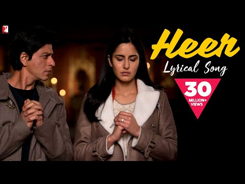 Thumbnail: Lyrical: Heer Full Song with Lyrics | Jab Tak Hai Jaan | Shah Rukh Khan | Katrina Kaif | Gulzar