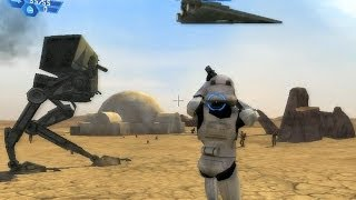 Star Wars Battlefront 1 gameplay Tatooine Dune Sea - Galactic Civil  War mission 1(PLAYLIST: https://www.youtube.com/watch?v=Ei1XJtyy404&list=PLFUut4gninOVCAnKSFr4LWINAOWaot96f Star Wars: Battlefront is a first and third-person ..., 2014-01-28T15:56:23.000Z)