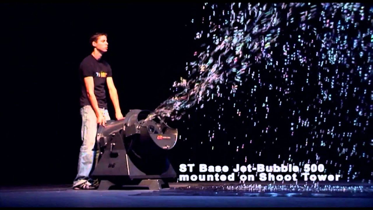 machine bulle jet bubble st 500 youtube
