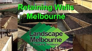 Treated Pine Timber Retaining Walls Melbourne _ Get A Free Landscaping Quote Melbourne