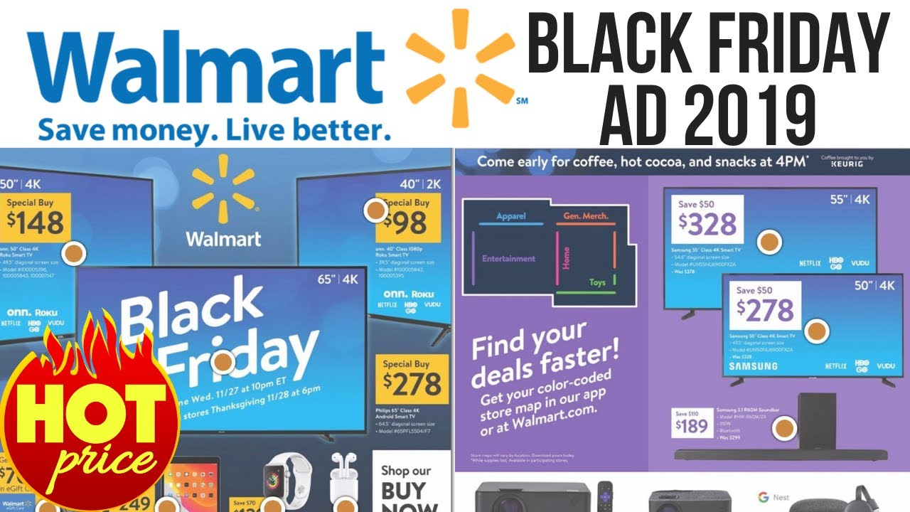Walmart Black Friday 2019 ad: Everything going on sale next week