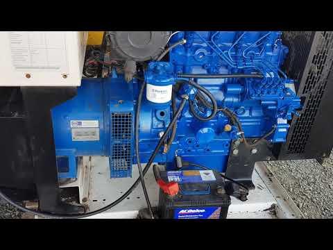 FG Wilson Perkins Generator Colour Code Signal Blue RAL 5005