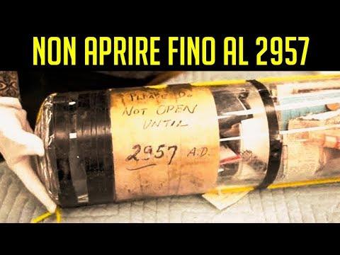 5 Incredibili capsule del tempo scoperte per caso