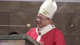 Abp Grzegorz Ryś w kościele Zesłania Ducha Świętego w Łodzi