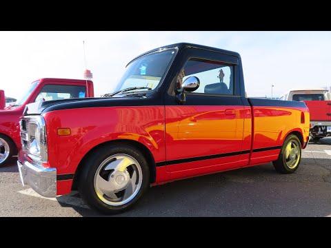 SUZUKI Lapin Custom Car By Blow ハイライダーピックアップ 赤黒ツートーン