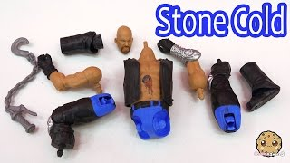 Stone Cold Steve Austin Vs Zombie Create A WWE Superstar Custom Tattoos Playset Set