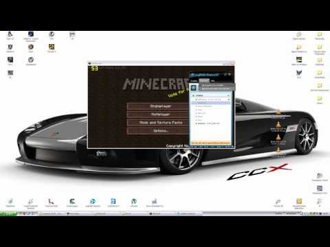 Minecraft Cracked Online+MINIMAP+HD Textures Tutorial