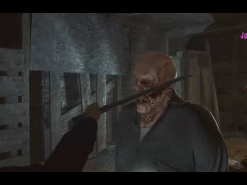 FRIDAY THE 13TH The Game. Worlds First Jason Kill!