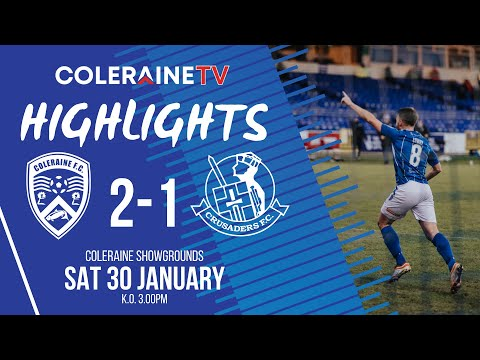 Coleraine Crusaders Goals And Highlights