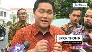 Koordinasi Mantap Erick Tohir Atur Jadwal Kampanye Jokowi - JPNN.COM