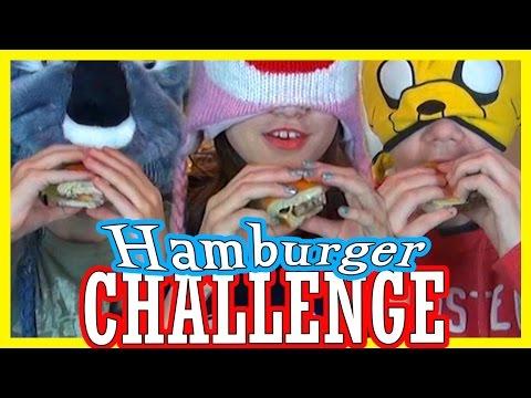 HAMBURGER CHALLENGE!!!  |  KITTIESMAMA