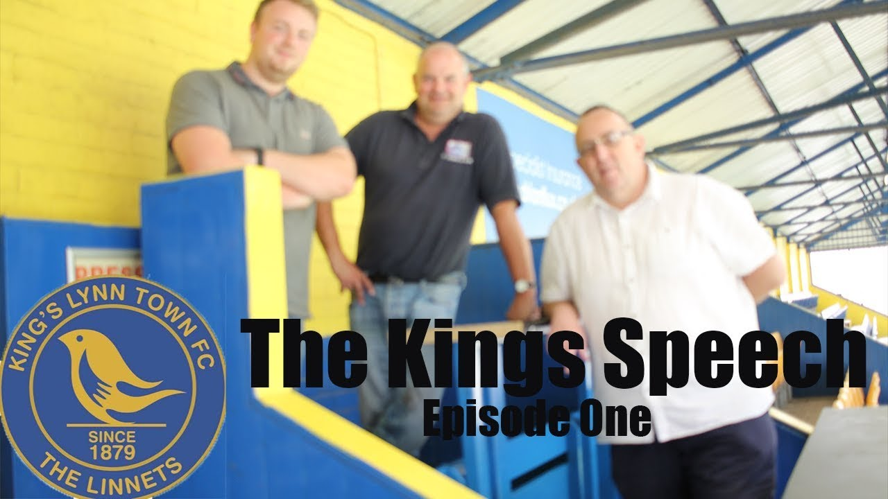 PRE-SEASON, SPONSORS AND FIXTURES - THE KING'S SPEECH #2