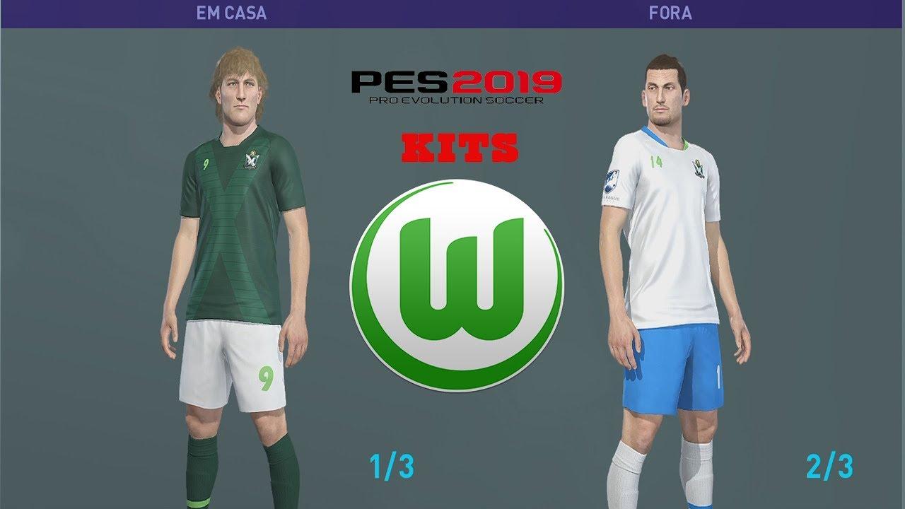 new product a415a f8442 VfL WOLFSBURG KITS PES 2019 XBOX ONE
