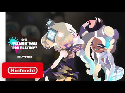 Splatoon 2 - Final Splatfest 'Thank You' Trailer - Nintendo Switch