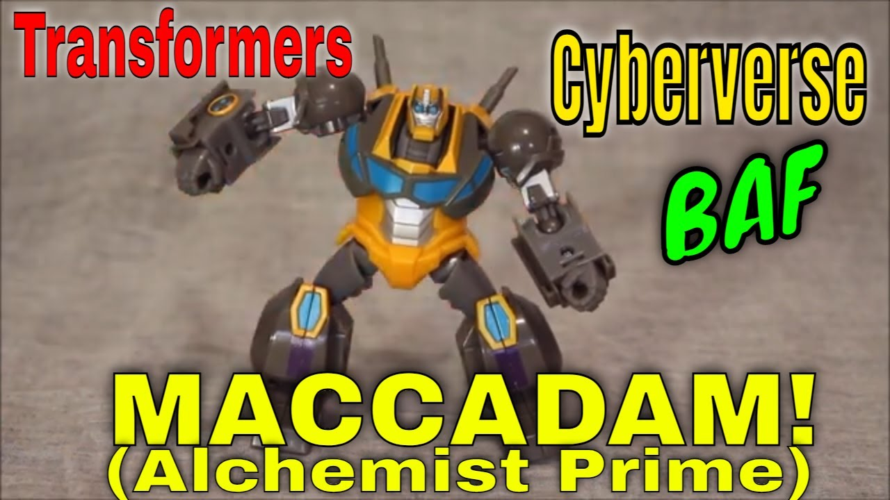 Another Step to the 13: Cyberverse BAF Maccadam! by GotBot