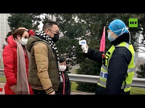 RT en Español: Ciudadano ruso graba cómo es la situación en Wuhan, el epicentro del coronavirus