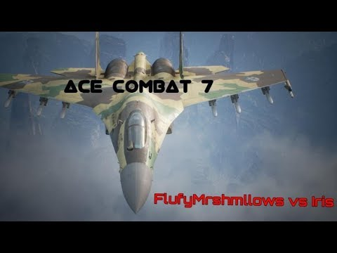 Ace Combat 7 - 1v1 Dogfighting against Iris (WORLDS BEST AC7 PILOT) PSM Madness!!!!!!