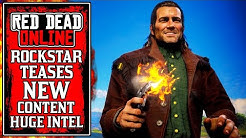 NEW CONTENT TEASED BY ROCKSTAR! New Ability Cards & More in New Red Dead Online Update (RDR2)