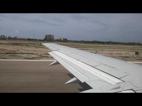 Surinam Airways B737-300 Takeoff Aruba