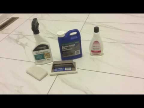 Epoxy Grout Haze Removal Solution!