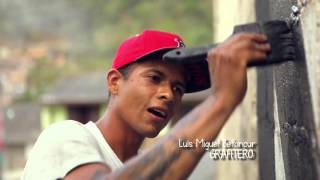 EPM – Camino al Barrio – Barrios de Jesús, MANOS A LA OBRA - Grafiti el KBE