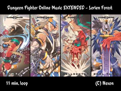 DFO Music Extended - Lorien Forest (Modern) 11 min. Loop