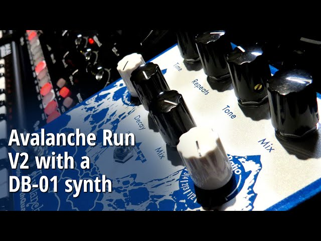 Avalanche Run V2 with a DB-01 synth (no talking)