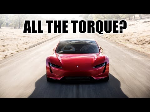 Does The Tesla Roadster Really Have 7,000+ lb-ft Of Torque?!