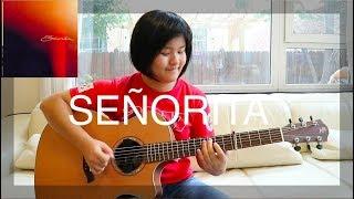 Senorita Shawn Mendes Camila Cabello fingerstyle guitar cover free tabs.mp3
