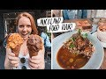 Auckland Food Tour - Trying DELICIOUS New Zealand FOODS! 🇳🇿- Lamb, Hokey Pokey and Hangi 😍