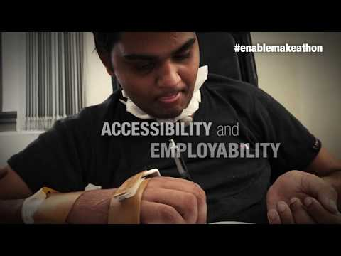 Join Enable Makeathon - Change lives of millions of persons with disability - Pankajam Sridevi
