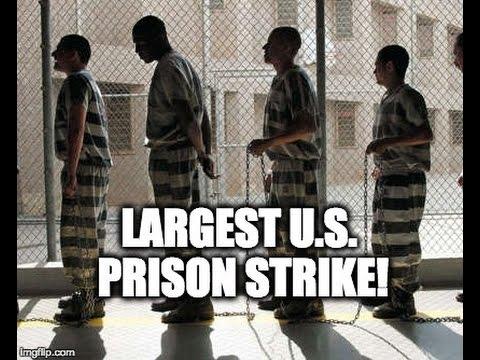 MASSIVE U.S. Prison Strike Starts THIS WEEK
