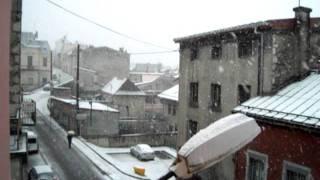 Saint Claude sous la neige