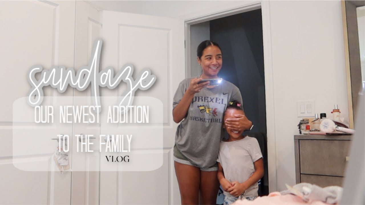 sundaze | bringing the new baby home vlog