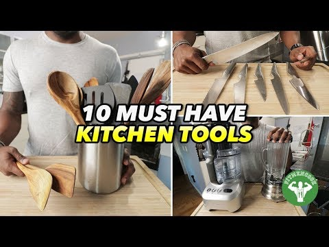 10 Must Have Kitchen Tools for a Fit & Healthy Kitchen