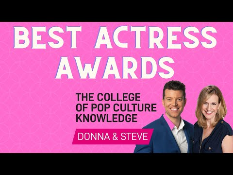 Best Actress Awards - College of Pop Culture Knowledge