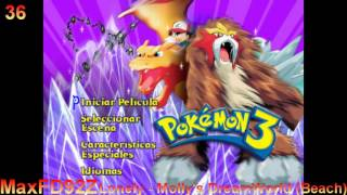 Pokémon 3: Spell Of The Unown - The Complete Score - 36 Lonely - Molly's DreamWorld (Beach)