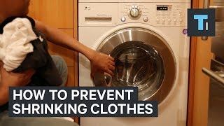 Here's why clothes shrink in the wash — and how to prevent it