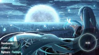 Video Nightcore - Flashlight download MP3, 3GP, MP4, WEBM, AVI, FLV Oktober 2018