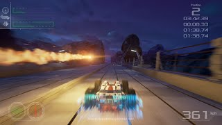 """GRIP (Rollcage): """"Figure 8"""" track - Private Pre-Alpha Gameplay!"""