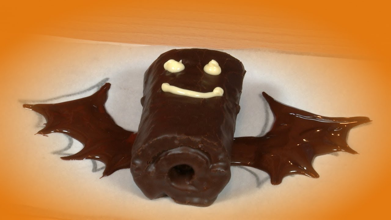 Murcielagos de Pastelitos de Chocolate  YouTube