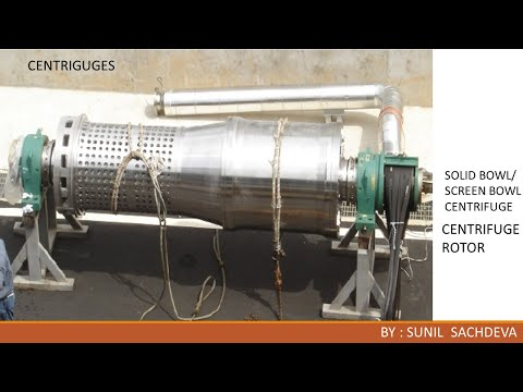 Centrifuges- Use In Petrochemical Plants Part 1